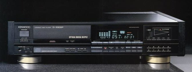 Classic Kenwood D-3300P CD Player Service and Repair