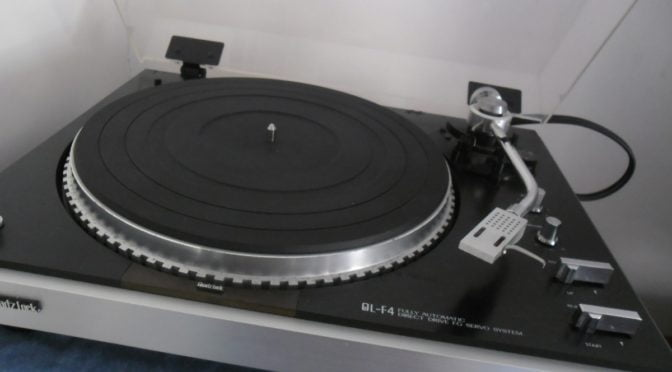 JVC QL-F4 DD Turntable Repair & Service
