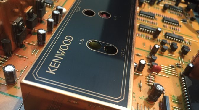 Kenwood KT-3300D FM Stereo Tuner Service and Alignment